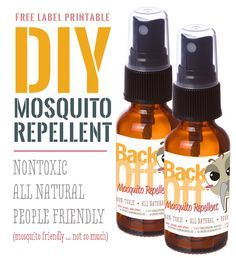 How To Make Mosquito Repellent Spray