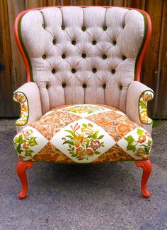 Boho Chair $1200. this would be a neat project to take up
