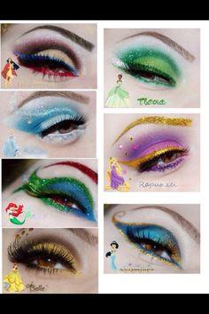 Princess Eye Make Up❤