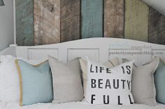 build your own removable plank wall by Perfectly Imperfect