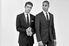 Sharp tailoring for a formal wedding look