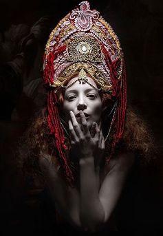 mikapoka: visual tale of a gothic aesthetic - costumes realized by designer Katarzyna Konieczka who was born in Gdańsk, northern Poland