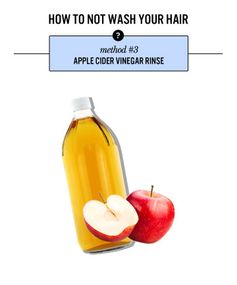 The Method: Apple Cider Vinegar Rinse