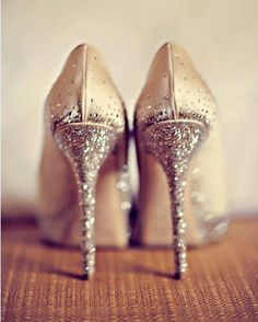 sparkling stilettoes