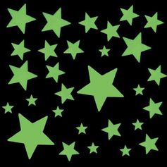Spell it on the ceiling with glow in the dark stars for a surprise at bedtime!