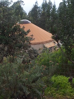 Yurt on Lavender Farm, Maui