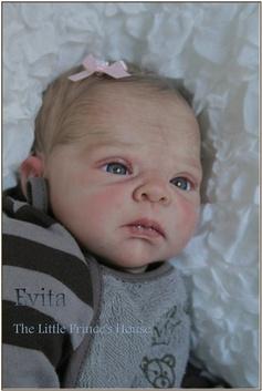Reborn Doll Baby Newborn Girl Sammie Kit by Adrie Stoete