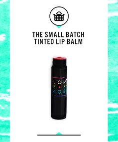 Best Tinted Lip Balms: Love + Sage Well Red Lip Balm