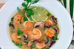 My Carolina Kitchen: Spicy Coconut Shrimp Soup