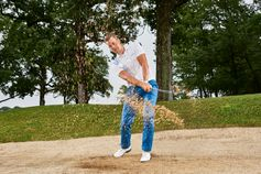 Dressed to win: Henrik Stenson in the BOSS Green golf collection