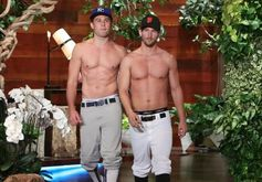 ELLEN PREDICTS THE WORLD SERIES WITH THE HELP OF MALE STRIPPERS