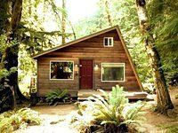 Check out this adorable 320-square-foot tiny cabin right outside of Seattle.