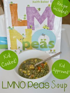 LMNO Peas Soup for Kids from Still Playing School
