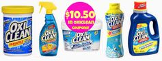 OxiClean: $10.50 in Printable Coupons!
