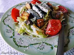 Living the Gourmet: Caesar Salad ~ Featuring Wild Planet White Anchovies
