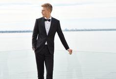 Expertly made from fine fabrics: the BOSS tuxedo