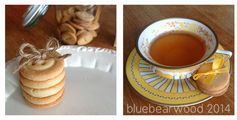 Button Biscuits (Button Cookies) Blue Bear Wood