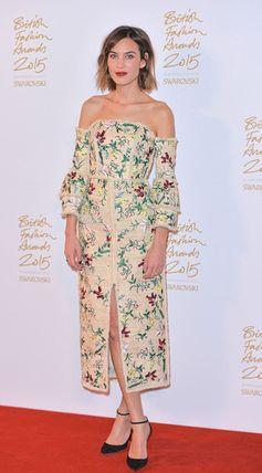 Best Dressed at the British Fashion Awards | Alexa Chung