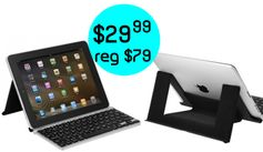 A4C:  ZAGG ZAGGkey FLEX Bluetooth Keyboard = $29.99 + FREE Shipping! Regularly $79.99!