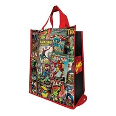 Marvel Comics Packable Shopper Tote #VandorLLC