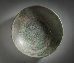 Bronze bowl from Phoenicia, 850 BC.