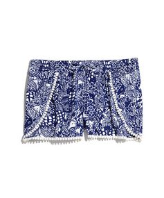 Lilly Pulitzer for Target Challis PomPom Shorts, $24