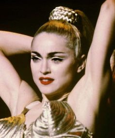 Best ponytails of all time: Madonna