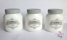 Glass Jars / Pantry Storage Jars / mysweethings.net