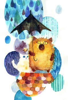 We hate Rain by ~sanikoko on deviantART