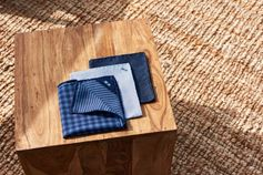 A pocket square to match any suit. Which will you choose?