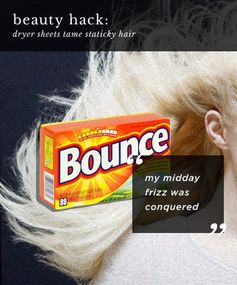 For hair that has the kind of static you