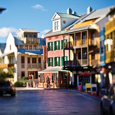 Rosemary Beach, FL - wish I lived in a place like this! Footpaths, boardwalks, secret pathways, beach, tennis, pools, shops, restaurants. One day.