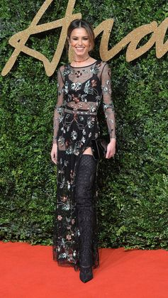 Best Dressed at the British Fashion Awards 2015 | Cheryl Cole
