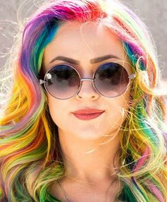 The latest trend in hair is here — and it's even better than unicorn colors