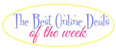 The Best Online Deals of The Week:  Electronics, Back to School, Clothing, Accessories + More!