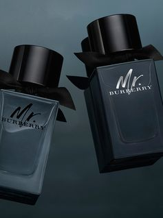 The Mr. Burberry fragrance family. Classic yet contemporary. Refined yet rebellious.