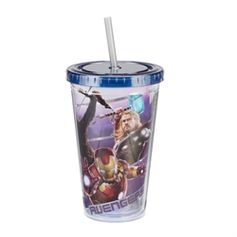 Click here to view larger imageMarvel Avengers 2: Age Of Ultron Movie 18 oz. Acrylic Travel Cup #VandorLLC #Avengers #AgeofUltron