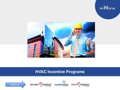 HVAC Contractor and Manufacturer Incentives