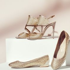 There's gold and then there's our refined approach to it. From the new Ferragamo Spring 2017 collection, woven metallic leather slingbacks and ballerinas. http://bit.ly/2hPQbm1