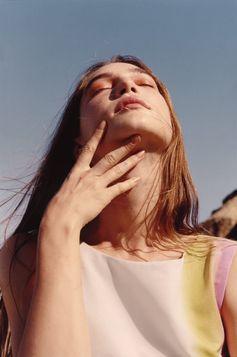 In the desert light with Alexandra Marzella