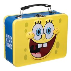 Large Tin Tote #SpongeBobSquarePants #VandorLLC