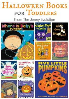Best Halloween Books for Toddlers (Board Book Editions)   The Jenny Evolution