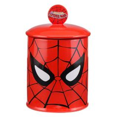 Spider-man Ceramic Cookie Jar #VandorLLC #Spider-Man