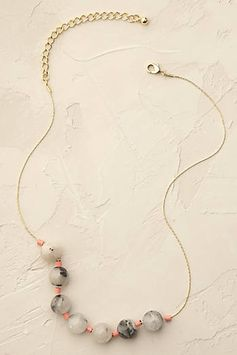 Marbled Quartz Necklace