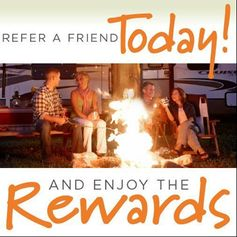 Refer a friend to Lazydays and enjoy the rewards! http://goo.gl/jFN6KI