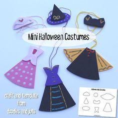 mini Halloween costumes for girls