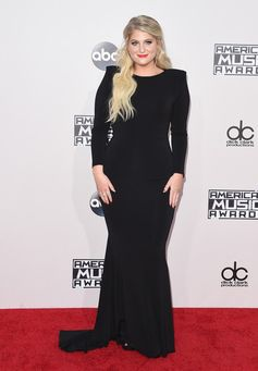All the Looks from the 2015 American Music Awards | Meghan Trainor