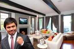 Manny Pacquiao selling Hancock Park McMansion for $2.7 million.