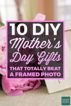 This year, make your mom something a bit more personal, whether she's into beauty, food or just quality time with you. When you unveil one of these thoughtful DIY gifts, your mom (and your wallet!) will thank you.