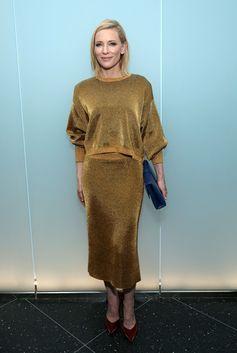 Cate Blanchett wearing Louis Vuitton Spring-Summer 2017 by Nicolas Ghesquière.